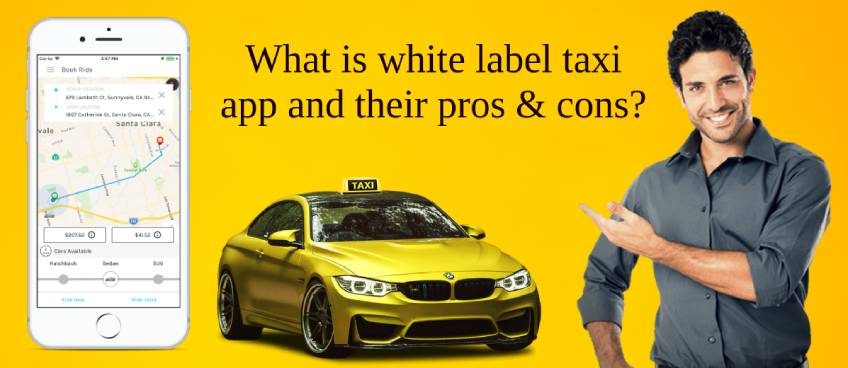 white label taxi app
